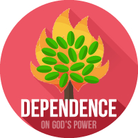 dependence on God's power
